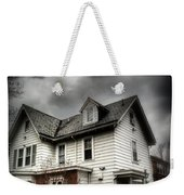 House With Brick Front - American Gothic Weekender Tote Bag