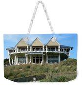Houseboat Boathouse Weekender Tote Bag