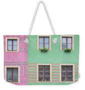 Houses From The Outside Weekender Tote Bag