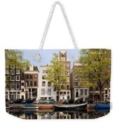 Houses In Amsterdam Weekender Tote Bag