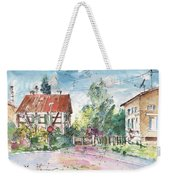 Houses In Soufflenheim Weekender Tote Bag