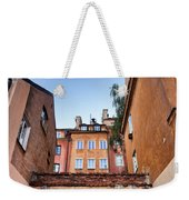 Houses In The Old Town Of Warsaw Weekender Tote Bag