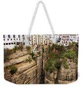 Houses On A Rock In Ronda Weekender Tote Bag