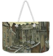 Houses Seen From The Back Weekender Tote Bag
