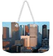 Houston Financial District Weekender Tote Bag