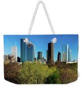 Houston Skyline, Houston, Texas Weekender Tote Bag