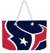 Houston Texans Weekender Tote Bag by Tony Rubino
