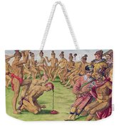 How A Sentry Was Treated For Negligence Weekender Tote Bag