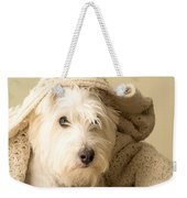 How About A Snuggle Card Weekender Tote Bag