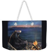 How Grandfather Bear Created The Stars Weekender Tote Bag