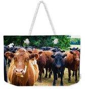 How Now Brown Cow Weekender Tote Bag