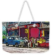 How To Change A Tire Comic Weekender Tote Bag