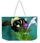 Winging The Wildflowers  Weekender Tote Bag