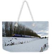 Hst In The Snow  Weekender Tote Bag