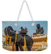 Huay Mongkol Temple  Weekender Tote Bag by Adrian Evans