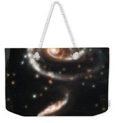 Hubble - Rose Made Of Galaxies Weekender Tote Bag