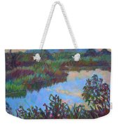 Huckleberry Line Trail Rain Pond Weekender Tote Bag
