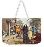 Hudibras And Ralpho In The Stocks Weekender Tote Bag