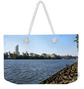 Hudson River And Albany Skyline Weekender Tote Bag