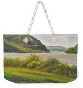Hudson River At Cold Spring Weekender Tote Bag