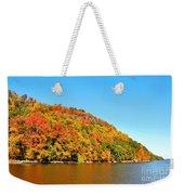 Hudson River Fall Foliage Weekender Tote Bag
