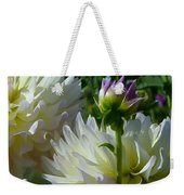 Hues Of Softness Dahlia Weekender Tote Bag