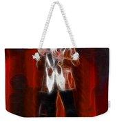Huey Lewis-fractal Weekender Tote Bag