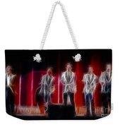 Huey Lewis-ga11a-fractal Weekender Tote Bag