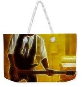 Huey Lewis-mario-gd19a-fractal Weekender Tote Bag