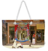 Hugs At Les Folles Allies Vintage Couture Friperie Farewell Goodbye Mont Royal City Scene C Spandau  Weekender Tote Bag