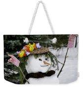 Hula Snowlady Weekender Tote Bag