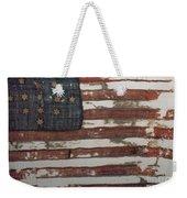 Hulbert Flag Early Us Flag 1776 Weekender Tote Bag by Photo Researchers