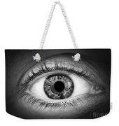 Human Eye Weekender Tote Bag by Elena Elisseeva