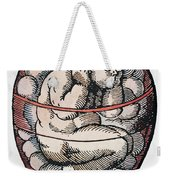 Human Fetus, 16th Century Weekender Tote Bag