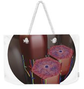 Human Liver Lobules, Cross-section Weekender Tote Bag