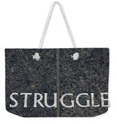 Human Rights Struggle Weekender Tote Bag
