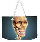 Human Skeleton Showing Teeth And Gums Weekender Tote Bag by Stocktrek Images