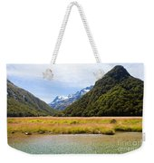 Humboldt Mountains Seen From Routeburn Track Nz Weekender Tote Bag