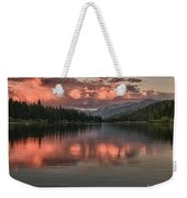 Hume Lake Sunset Weekender Tote Bag