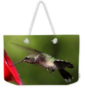 Look Hummingbird Eyelashes Weekender Tote Bag