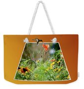 Humming Bird Out Of Bounds Weekender Tote Bag