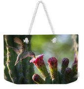 Hummingbird Breakfast Southwest Style  Weekender Tote Bag
