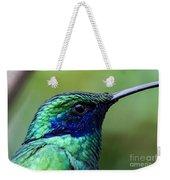 Hummingbird Closeup Weekender Tote Bag