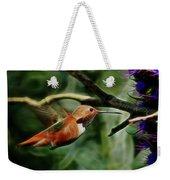 Hummingbird Dreams Digital Art Weekender Tote Bag