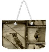 Hummingbird Family Portraits Weekender Tote Bag