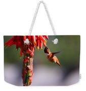 Hummingbird Feast  Weekender Tote Bag