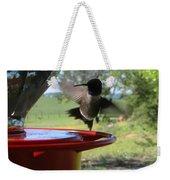 Hummingbird Flying To The Feeder Weekender Tote Bag