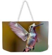 Hummingbird Frolic Weekender Tote Bag