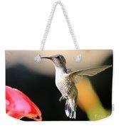 Hummingbird Happiness Weekender Tote Bag