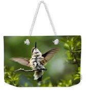 Hummingbird Happy Dance Weekender Tote Bag